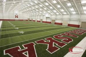 This indoor facility is one example of the top notch facilities Nebraska has to offer.