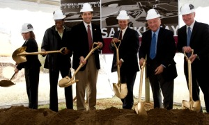 March 2009 Groundbreaking of Saluki Way