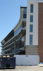 The University of Maryland is set to up the new Tyser Tower for the Fall football season.
