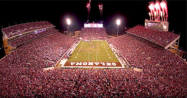 Oklahoma has a 99% season ticket renewal rate for the 2009 season.