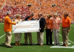 Tennessee Athletics donated $10.35 million back to the school.