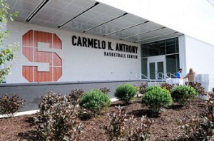 carmelo anthony center